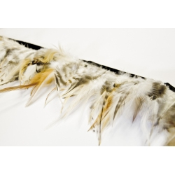 Saddle Hackle Feather Fringe 1 Metre