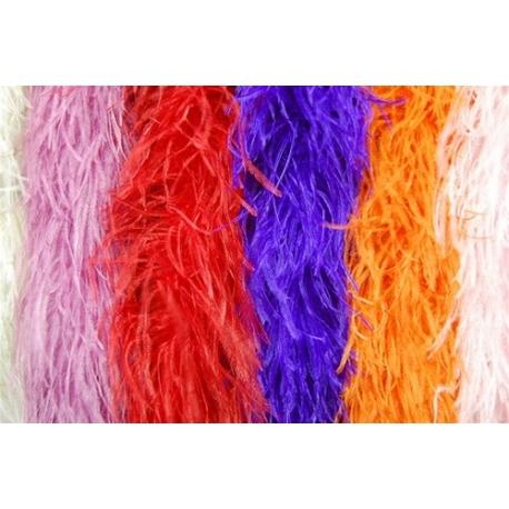 Ostrich Feather Boa 4ply - 2 yard